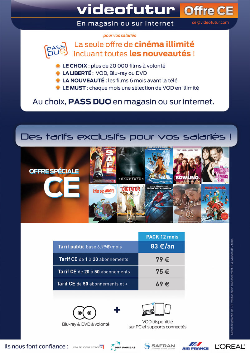 cliquez pour envoyer une mail